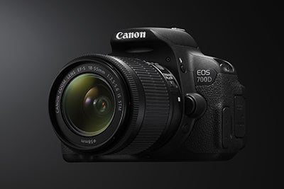 Canon EOS 700D angle