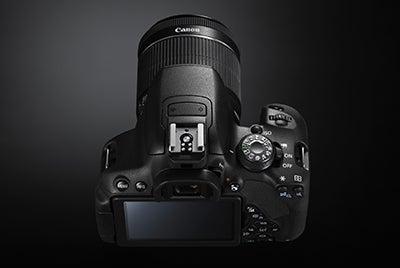 Canon EOS 700D top view