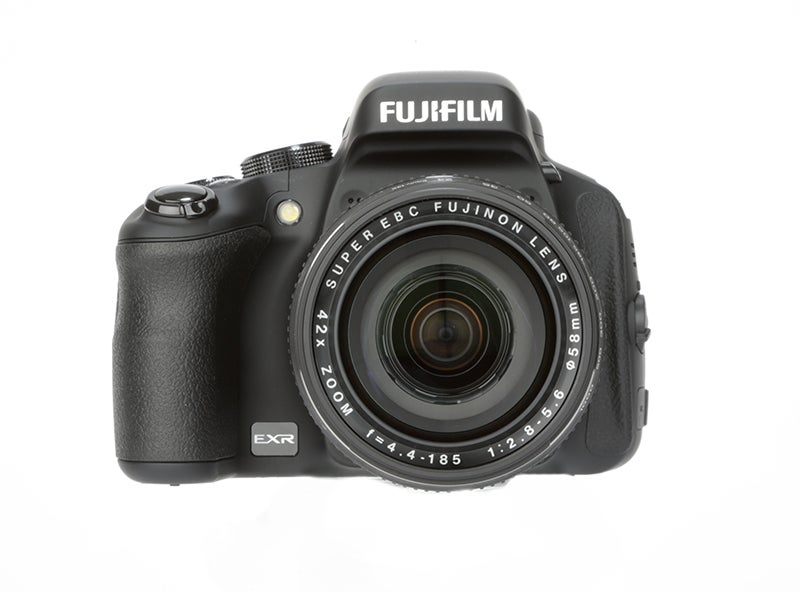 Fujifilm HS50 EXR front view