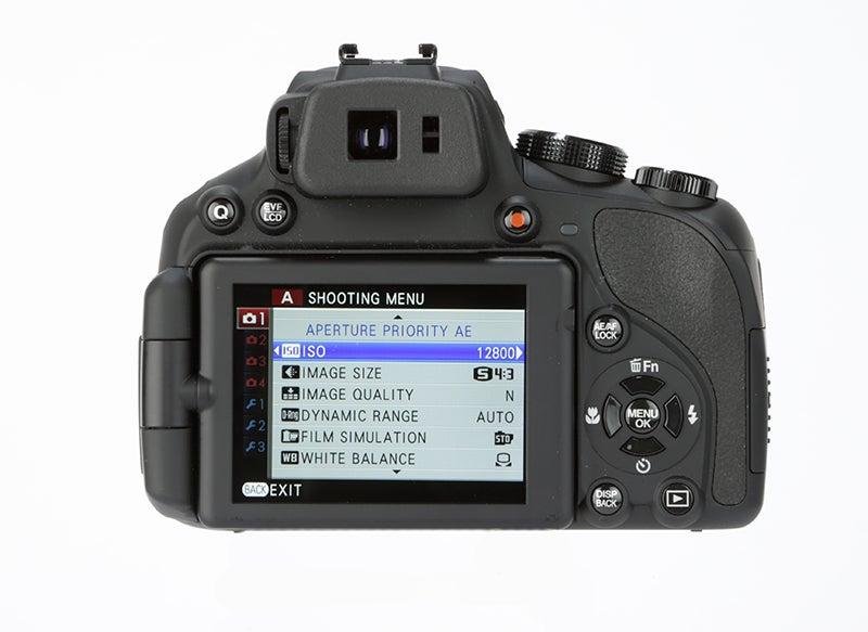 Fujifilm HS50 EXR LCD screen