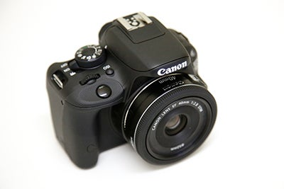 Canon EOS 100D 3/4 hands on