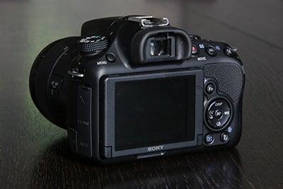 Sony A58 rear