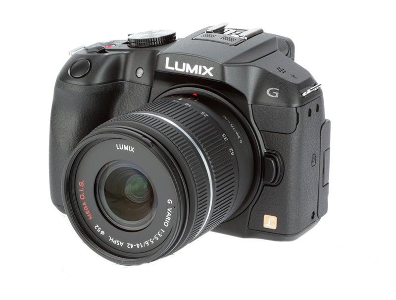 Panasonic Lumix G6 Review - G6 angle