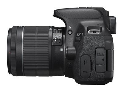 Canon EOS 700D side view