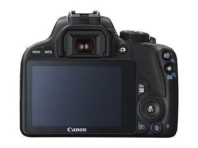 Canon EOS 100D rear view