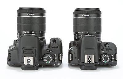 Canon EOS 100D / 700D comparison 1