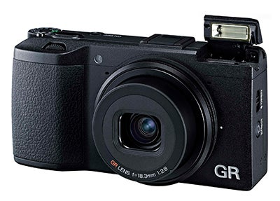 pentax ricoh gr front angle