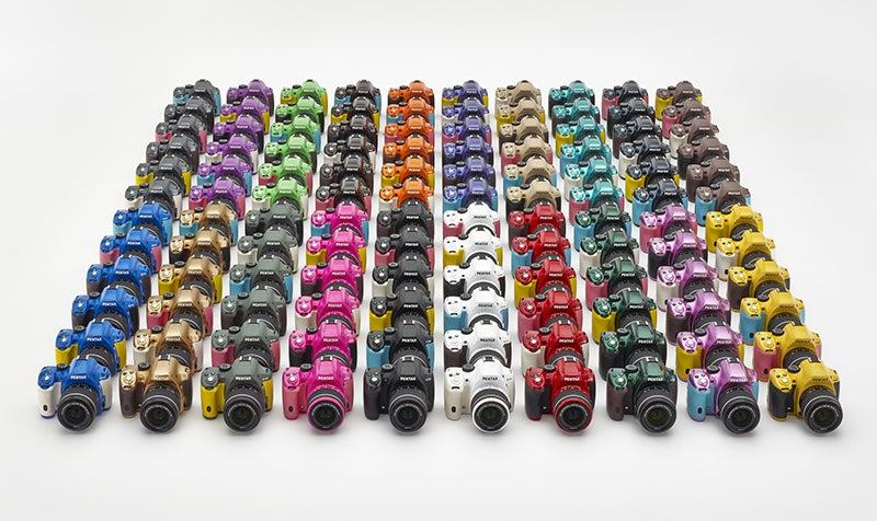 Pentax K-50 Colours