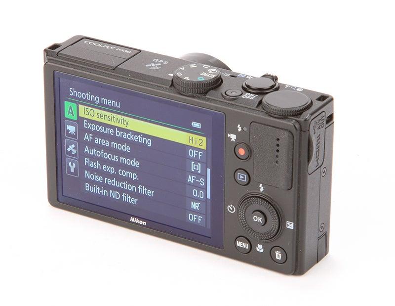Nikon COOLPIX P330 Review - rear view
