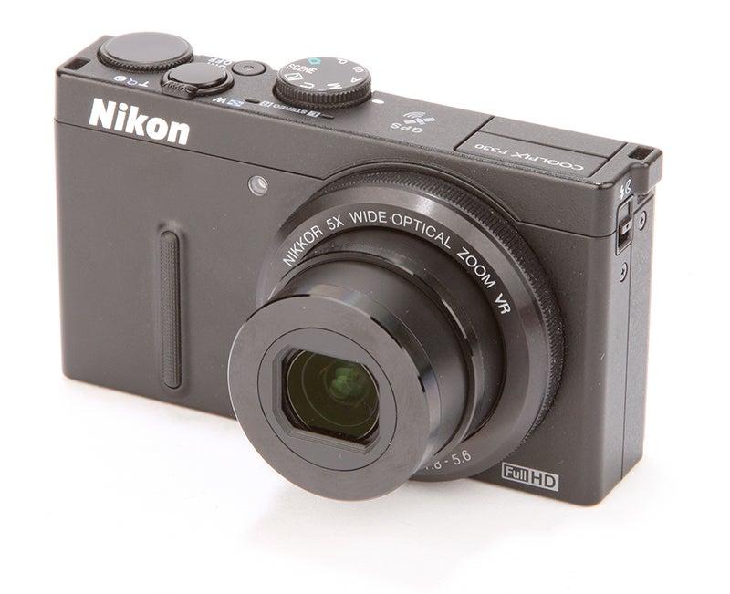 Nikon COOLPIX P330 Review - front angle