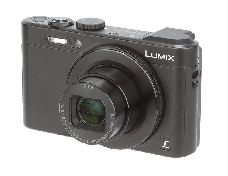 Panasonic Lumix LF1 Review -  front angle