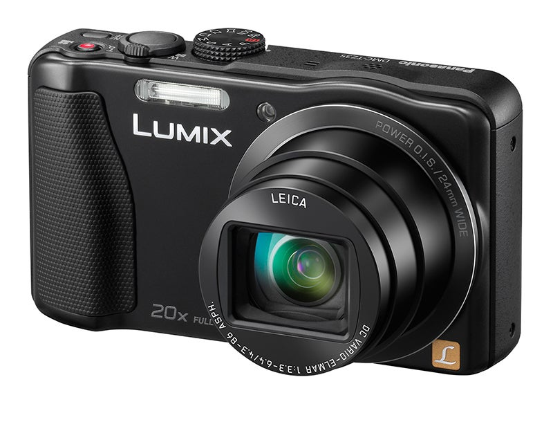 Panasonic Lumix TZ35 Review - angled