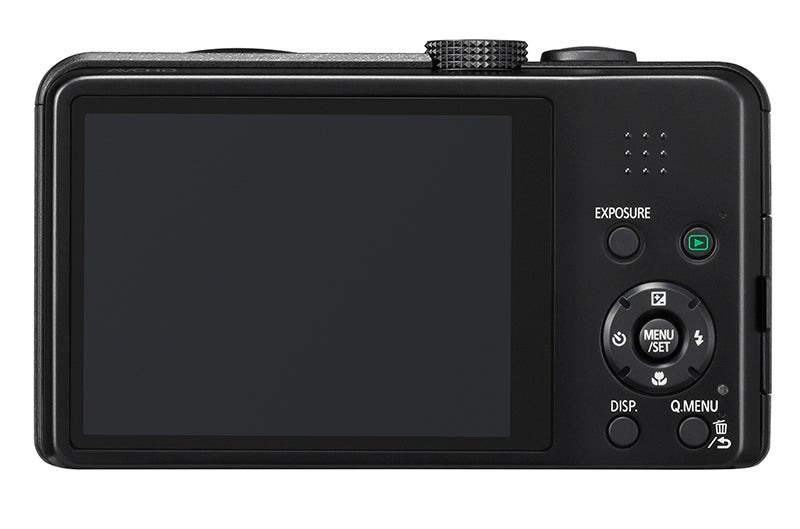 Panasonic Lumix TZ35 Review -  rear view