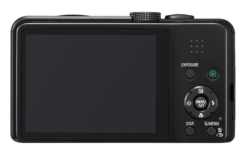 Panasonic Lumix TZ35 Review -  rear view