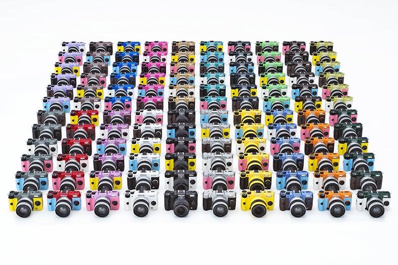 Pentax Q7 - Colours