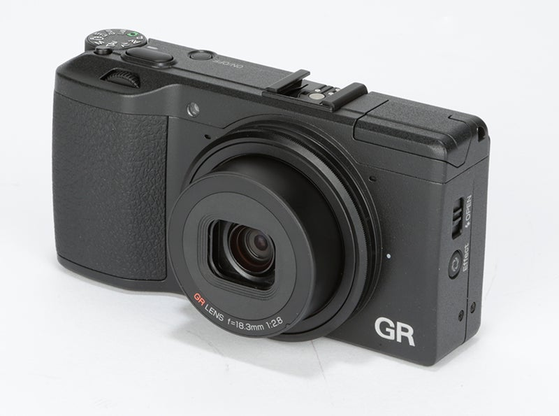 Ricoh GR Review - front angle 2