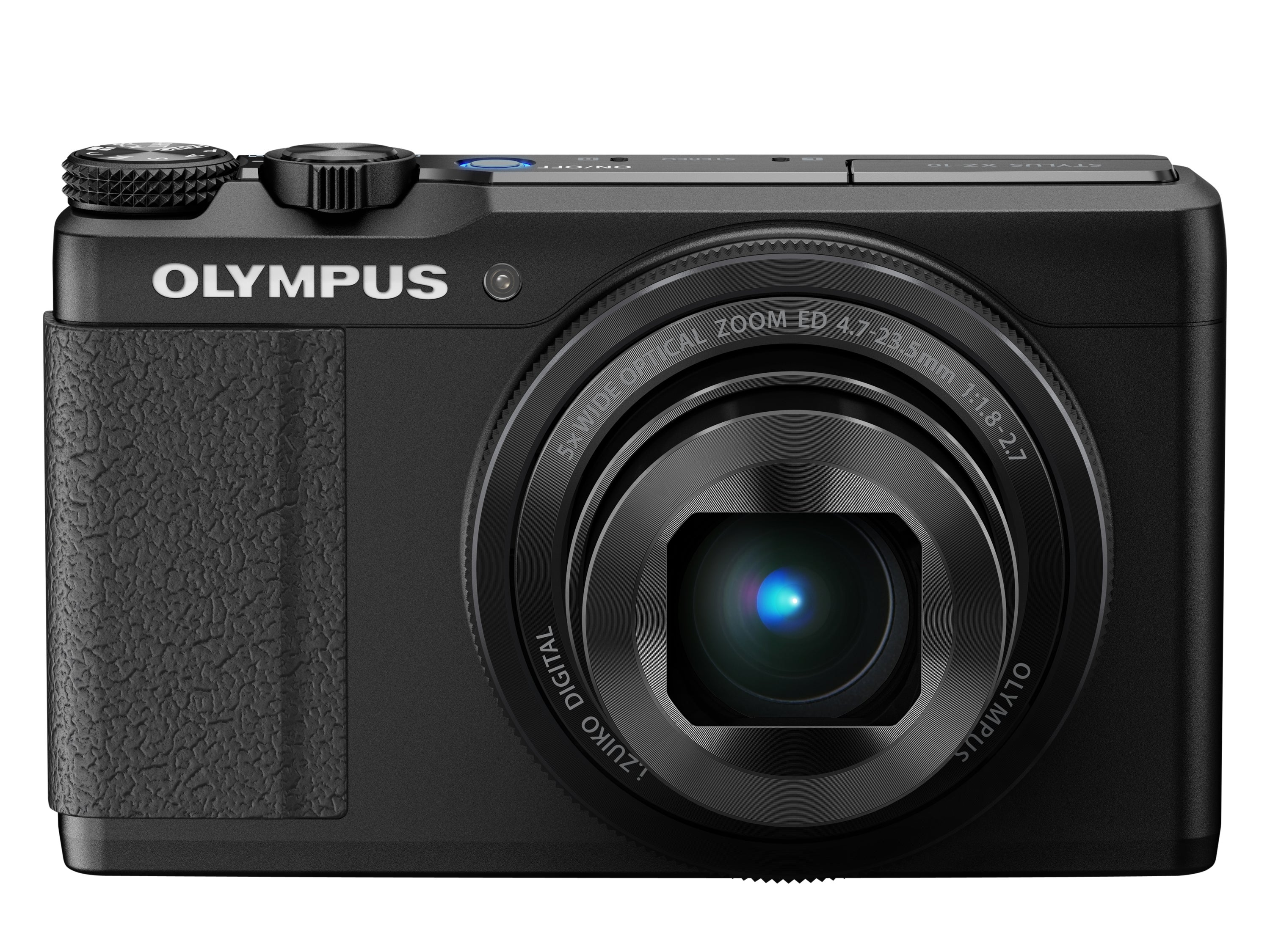 Olympus XZ-10 Review -  front view