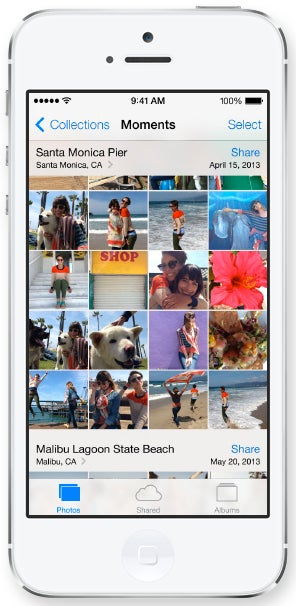 Apple iOS 7 Camera Roll and Features