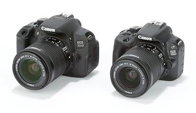 Canon EOS 100D vs 700D