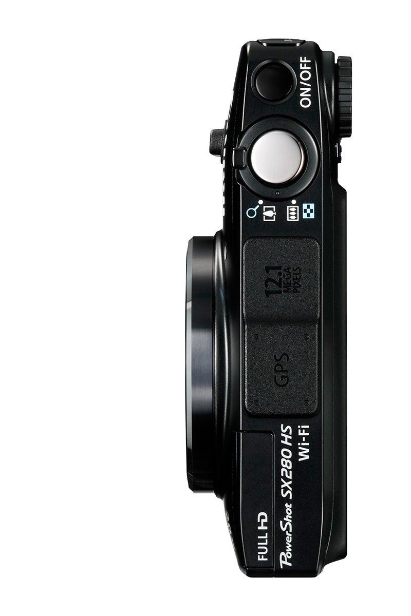 Canon PowerShot SX280HS Review - top view