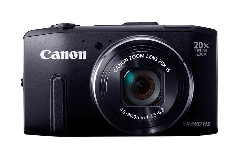 Canon PowerShot SX280HS Review - front view