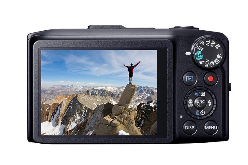 Canon PowerShot SX280HS Review - rear view