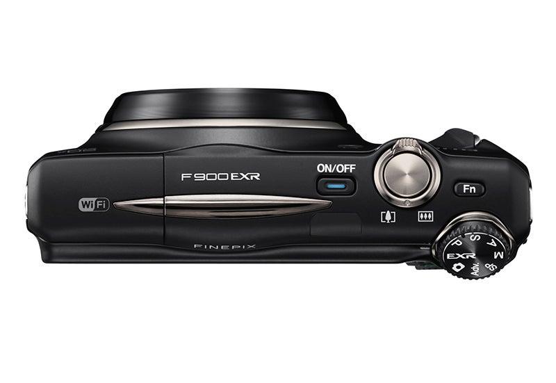 Fuji F900 EXR top view