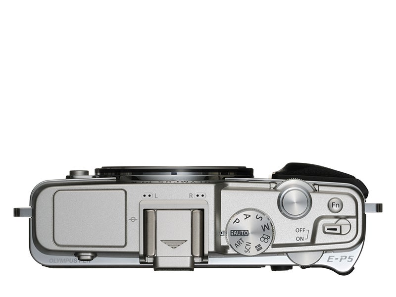 Olympus E-P5 Review - top view