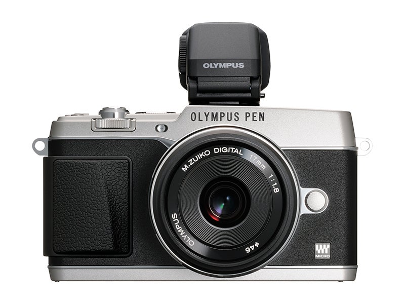 Olympus E-P5 Review - stabilised lens