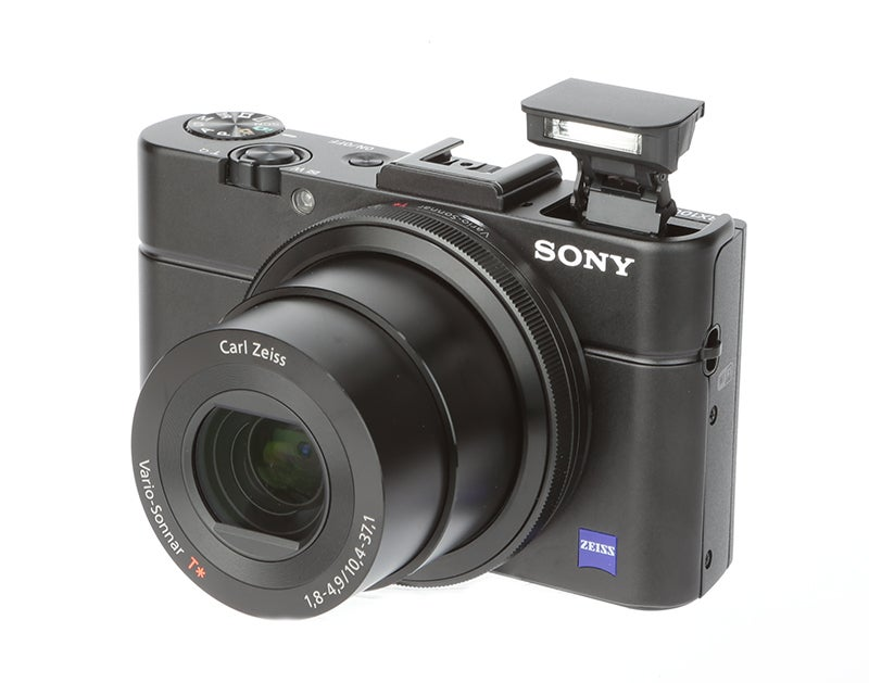Sony Cyber-shot RX100 II Review - front angle
