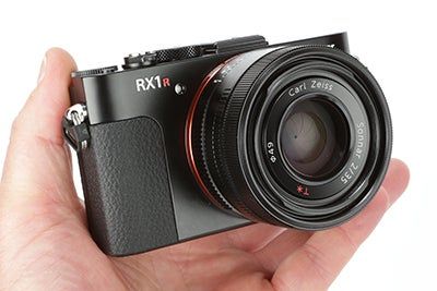 Sony RX1R Review - hand held