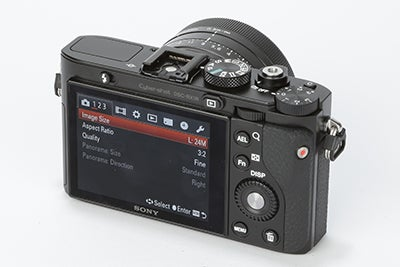 Sony RX1R Review - rear view