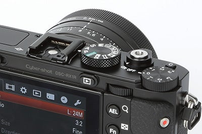 Sony RX1R Review - controls
