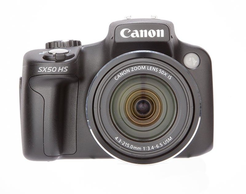 Canon PowerShot SX50 HS Review - front view
