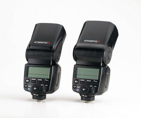 AF 540FGZ II and AF 360FGZ II
