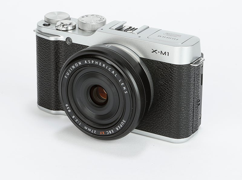 Fujifilm X-M1 Review - front angled