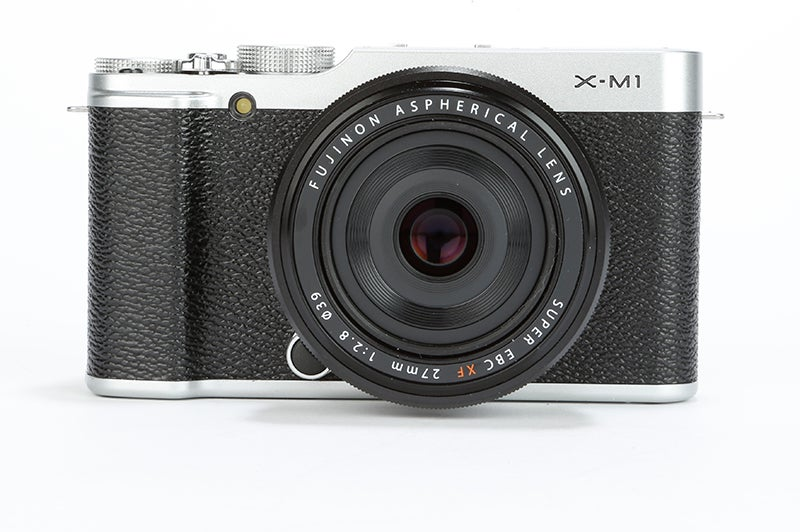Fujifilm X-M1 Review - front view