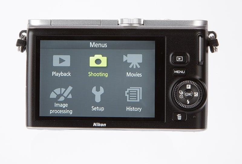 Nikon 1 J3 Review - rear view