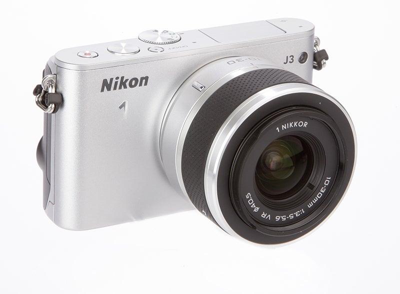 Nikon 1 J3 front angle 2