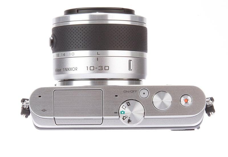 Nikon 1 J3 Review - top view