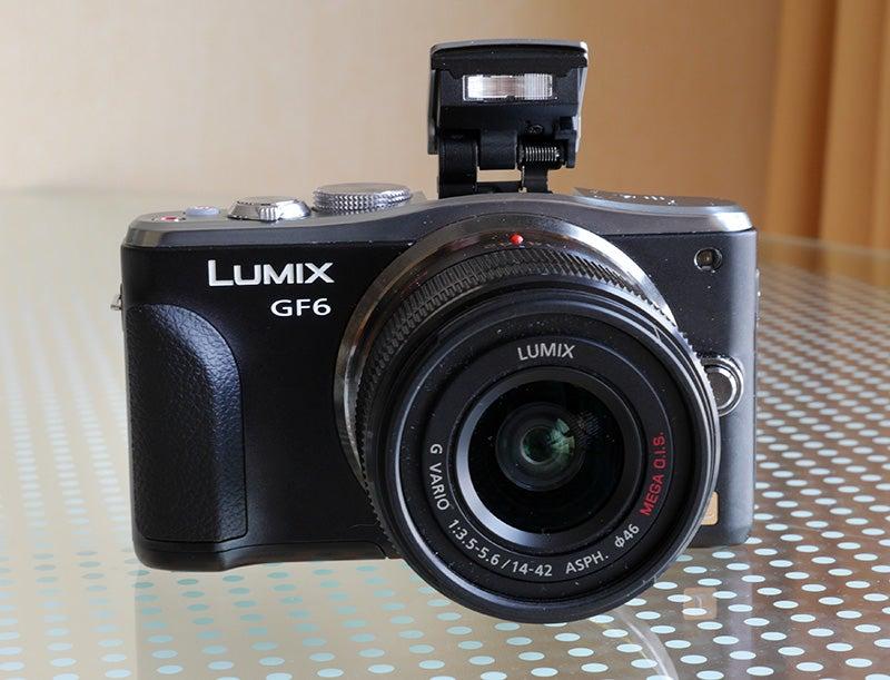 Panasonic Lumix GF6 front view