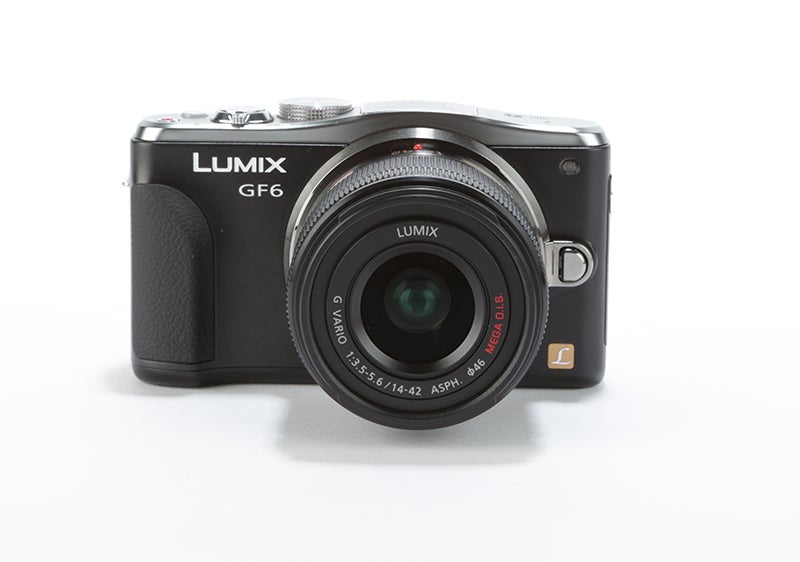 Panasonic Lumix GF6 Review - front view