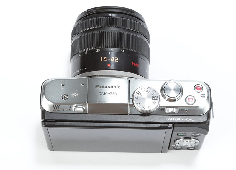 Panasonic Lumix GF6 Review - shooting modes