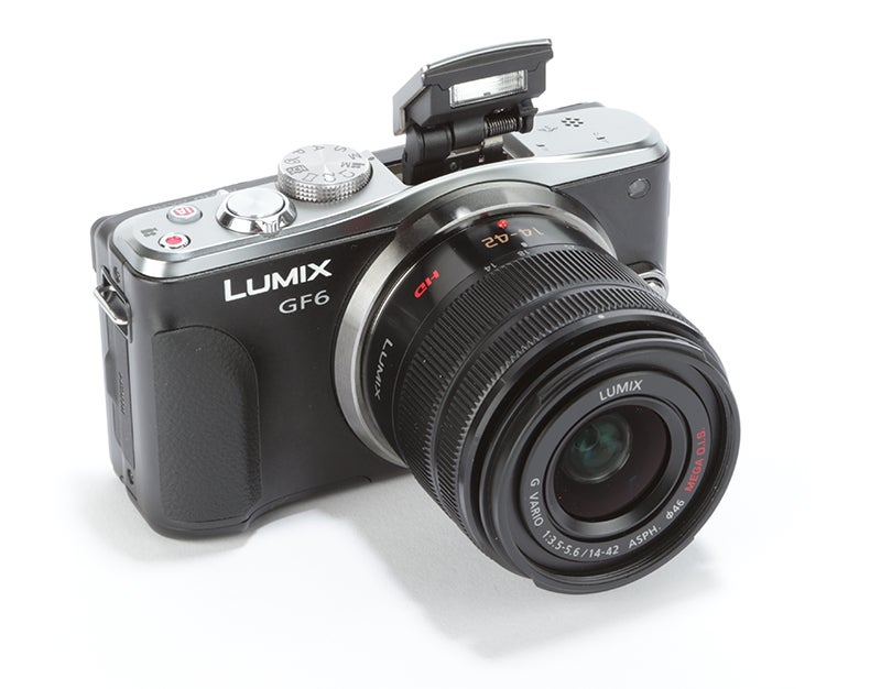 Panasonic Lumix GF6 Review - angled