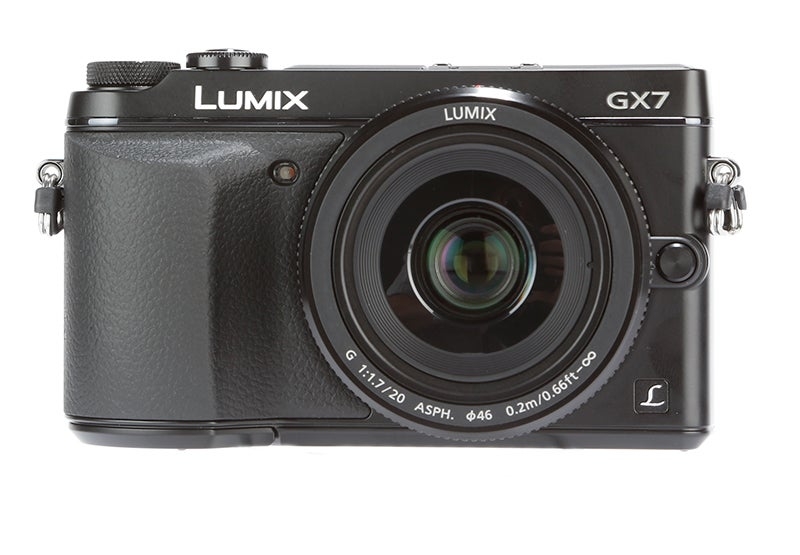 Panasonic Lumix GX7 Review - front view
