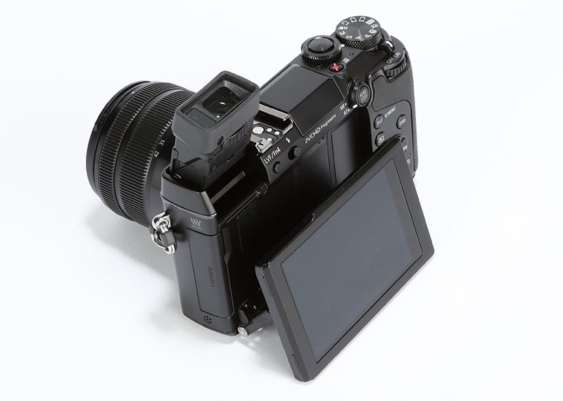 Panasonic Lumix GX7 Review - rear angle