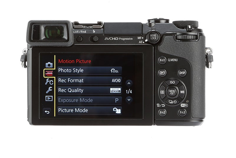 Panasonic Lumix GX7 Review - controls layout