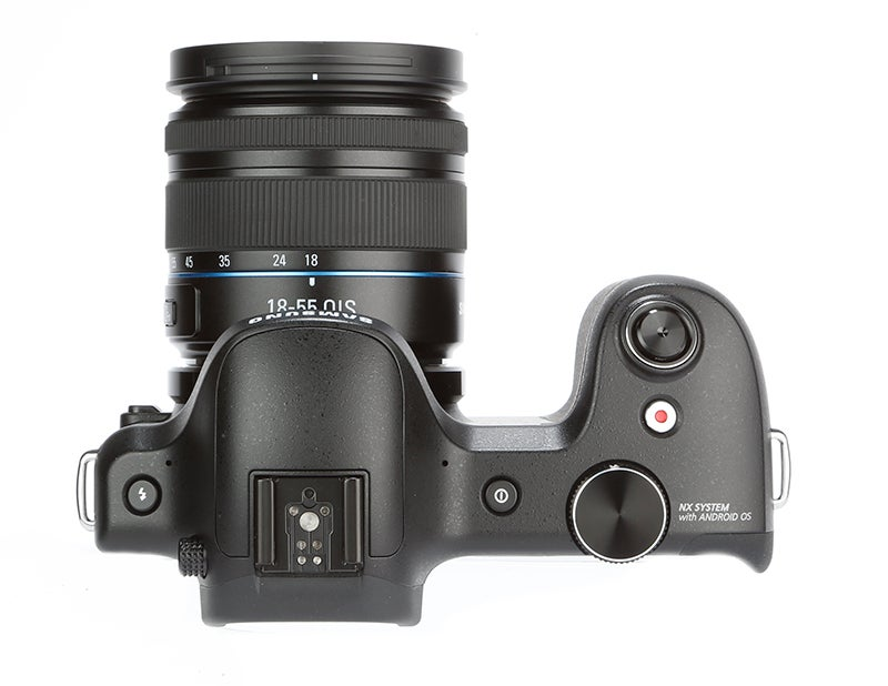 Samsung Galaxy NX Review - top view
