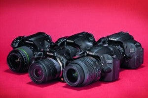 Five-Way DSLR Group Test