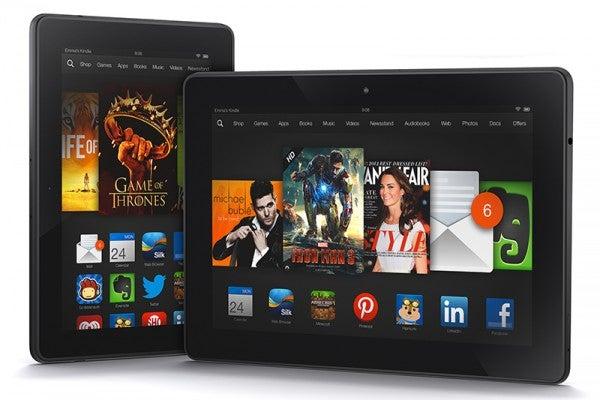 Amazon Kindle Fire HDX range